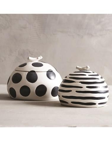 Warm Design Dekoratif Takı Kutusu  Siyah